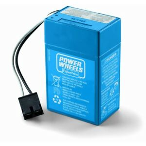 00801-1900 - Power Wheels 6v Blue Battery