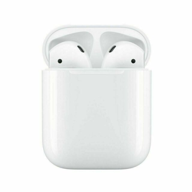 BRAND New Genuine Apple AirPods 2nd Generation (2019) with Charging Case 2nd Gen