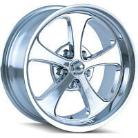 Ridler Style 645 20x8.5 5x127 (5x5) +0mm Chrome Wheels Rims 645-2873c on sale