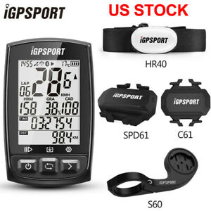 IGPSPORT Bicycle Computer IGS50 Bike GPS Cycling Ant+ Waterproof IPX7 Odometer