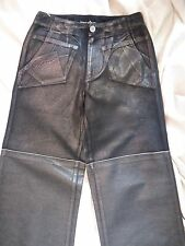 ISSEY MIYAKE VINTAGE Denim Jeans Made in Japan NEW UNWORN Wide Leg Foil Details