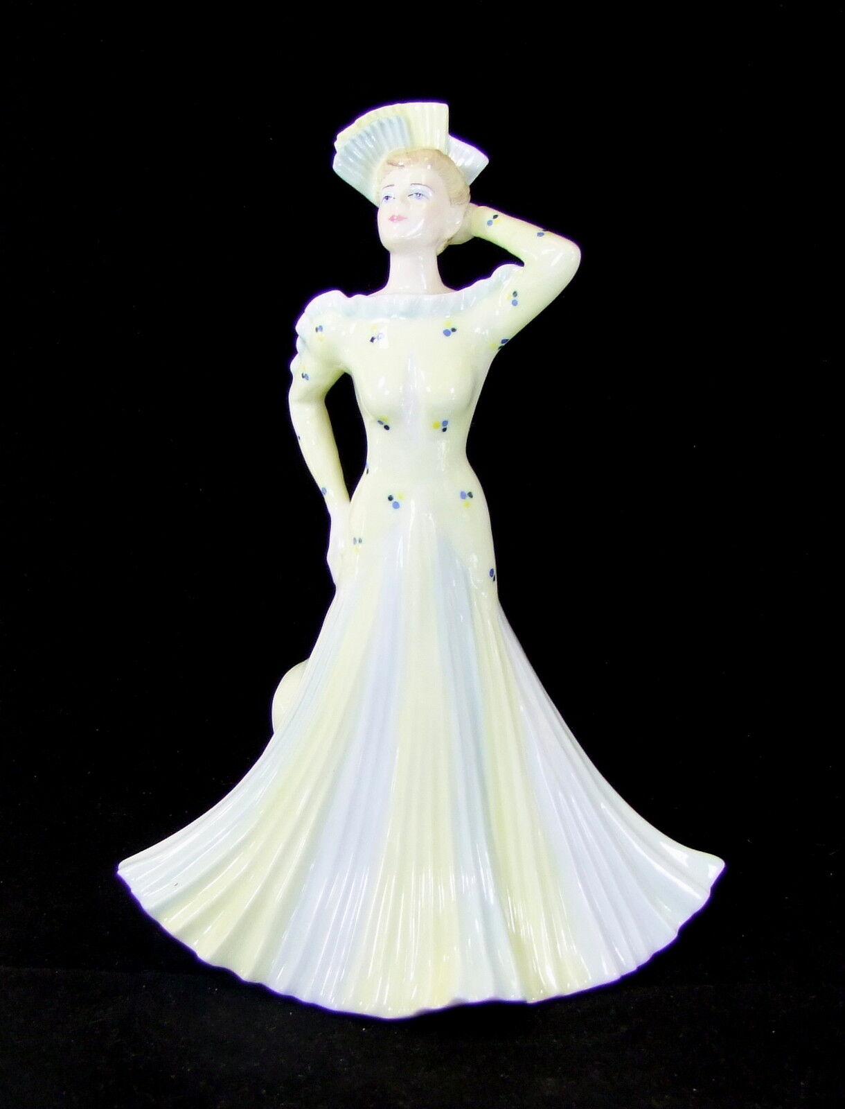 COALPORT femme Figurine - David par David - SHILLING - L. A. GALA - Édition Limitée fd74d4