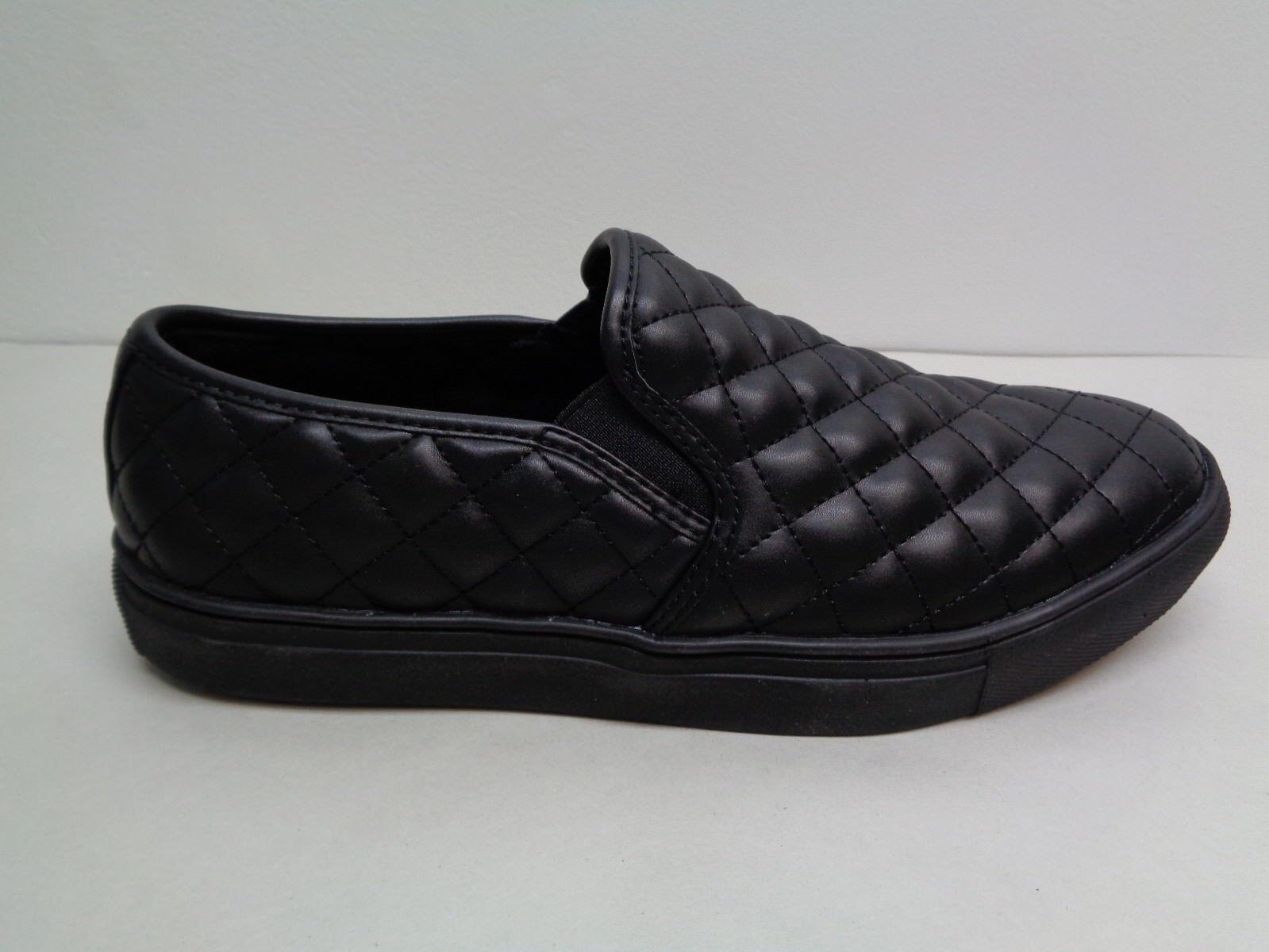 50b228d6e68 Steve Madden Size 8 M Element Black Slip on Loafers SNEAKERS Mens ...