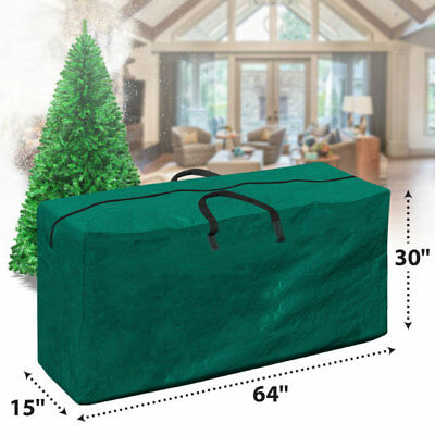 Christmas Tree Bags.Heavy Duty Large Christmas Tree Storage Bag Green Waterproof Sack Up To 9ft Tree 8568817023 Ebay