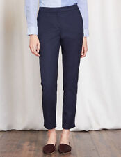 Boden Richmond 7/8 Trousers Navy UK10 Petite BNWT