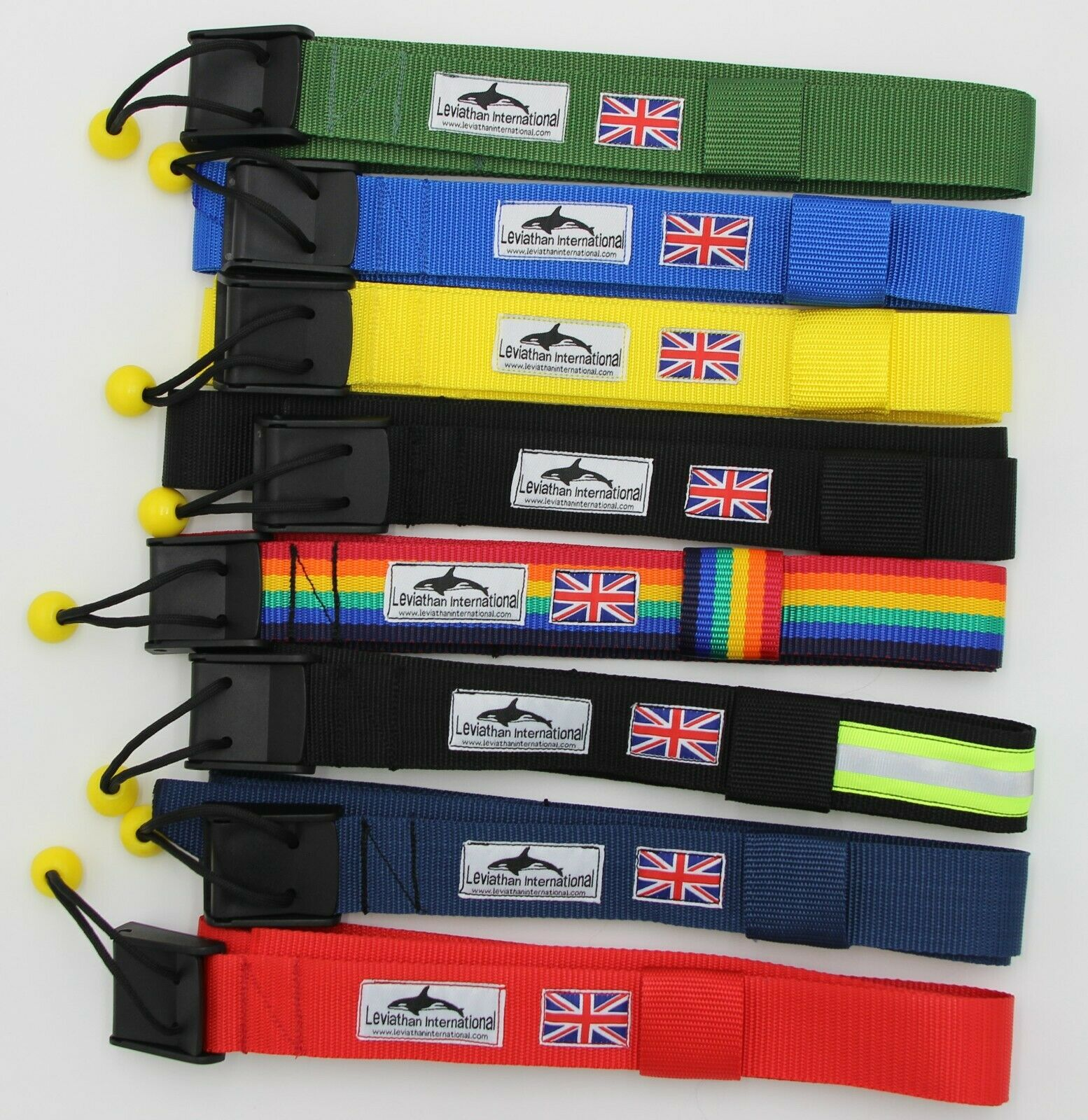 EIGHT TYPES OF ADULT 38mm SUP QUICK RELEASE WAIST BELT (nylon cam buckle).