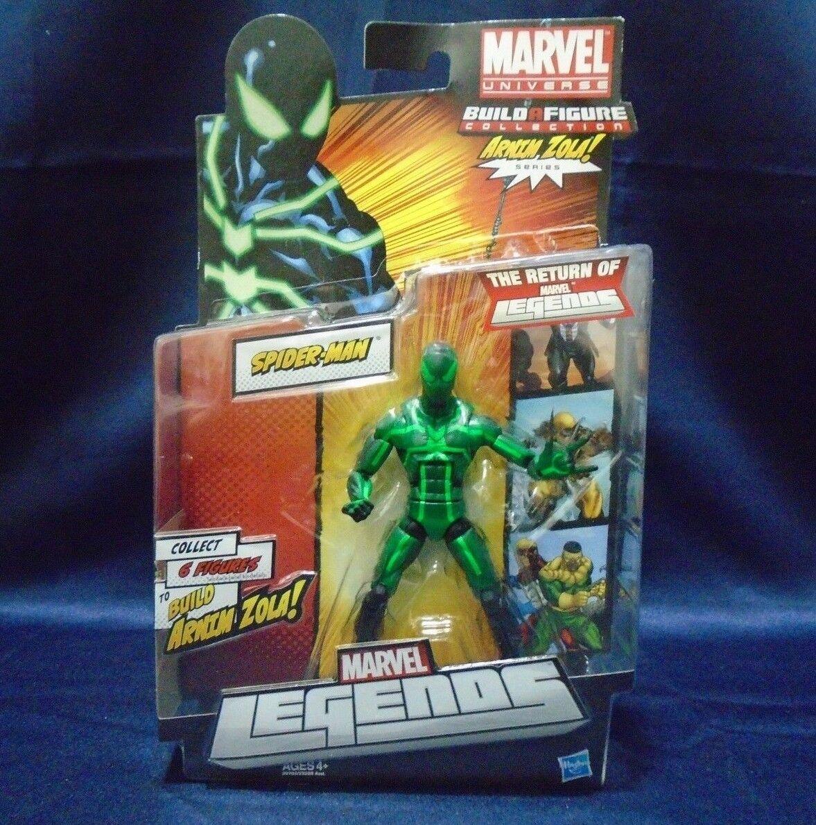 Marvel Legends Spider-Man Big Time Costume BAF BAF BAF Arnim Zola Action Figure fe71ad