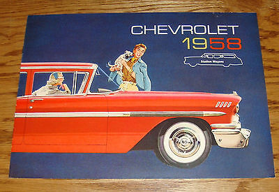 1958 CHEVROLET SALES BROCHURE