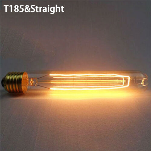 40W Vintage Retro Antique Filament Industrial Edison Light Bulb E27 Holder`