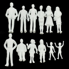 1 Set 1 25 Scale Model White Figures ABS Making Micro DIY Unpainted Accessories