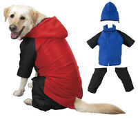 Dog Snowsuit, Usa Seller, Removable Pants/hood, Jacket Winter Coat Snow Suit