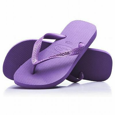 Havaianas Top Flip Flops Toe Post Sandals Grape