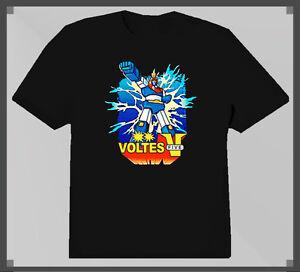 timeless design 34005 786ea Image is loading Voltes-V-Anime-Cartoon-T-Shirt