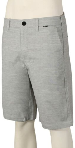 Hurley Dri-FIT Breathe Chino Shorts Wolf Grey New