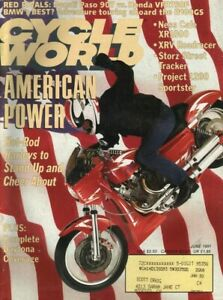 1991-June-Cycle-World-Vintage-Motorcycle-Magazine