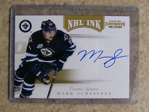 11-12-Panini-Contenders-NHL-Ink-Gold-Parallel-69-MARK-SCHEIFELE-25
