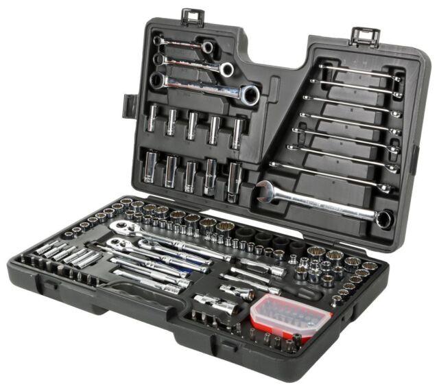 Halfords Advanced 150 Piece Socket & Ratchet Spanner Set Tool Box