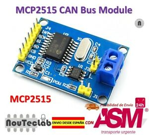 Details about MCP2515 CAN Bus Module TJA1050 Receiver SPI Module