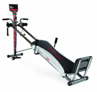 total gym 1400 with workout dvd  full body workout