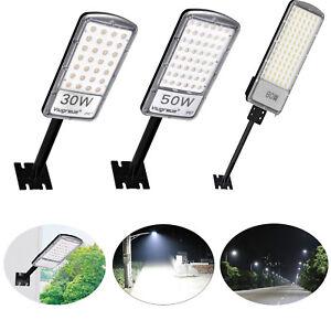 6X 300W LED Straßenbeleuchtung Mastleuchte Straßenlampe Laterne Fluter Weiß IP67