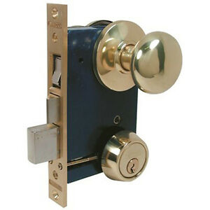 Marks Usa 22ac 3 W Lhr Brass Mortise Lock For Storm Door