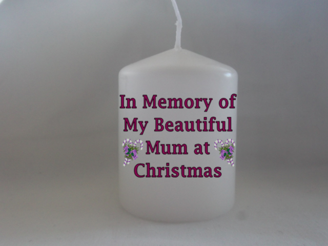 Memorial Candle Gravesid In Loving Memory Of My Husband Remembrance Candle