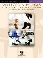 Waltzes & Polkas For Easy Classical Piano Sheet Music The Phillip Keve 000160076