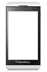 Blackberry-Z10-Smart-Phone-White-For-Parts-Password-Locked