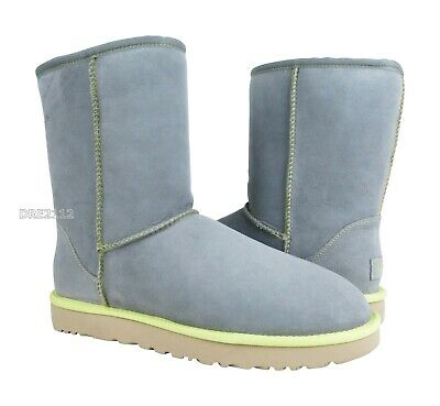 6443b55349d UGG Australia Classic Short II Neon Pencil Lead Fur Boots Womens Size 10  *NIB*   eBay