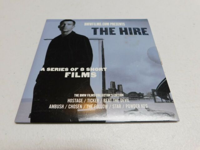 RARE Sleeve The Hire: A Series of 8 Short Films BMW Films 2003 DVD Clive Owen