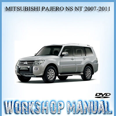 mitsubishi pajero ns nt 2007 2011 workshop repair service manual in rh ebay com au pajero sport 2011 manual pajero tr4 2011 manual