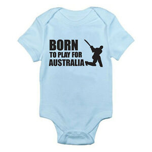 Born To Play For Australia Cricket Cricketers Sports Themed