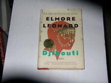 Djibouti by Elmore Leonard (2010, Hardcover) SIGNED 1st/1st