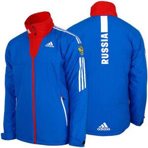 Das Bild wird geladen adidas-Damen-Cross-Country-Universal-Jacke -Team-Russia- 8bbab3803a