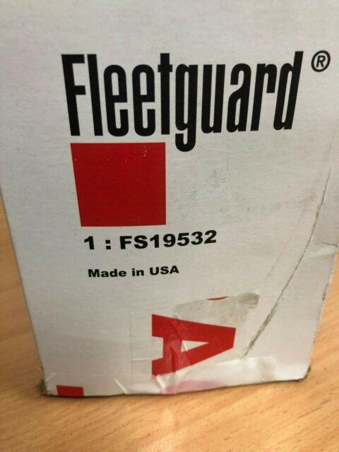 Fleetguard FS19532 Fuel Filter with Water Separator
