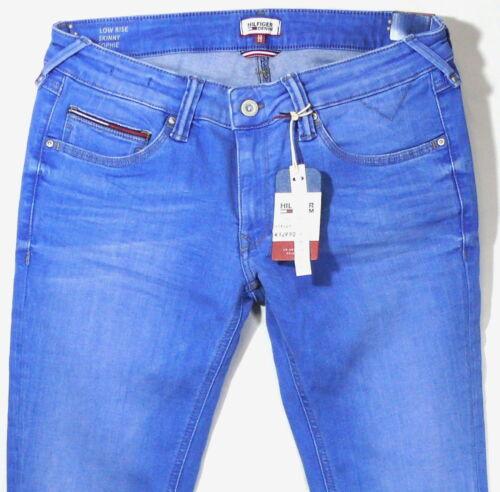 Tommy Hilfiger Denim Jeans Sophie Embst W34 L32 Blau Dynamic Stretch Skinny NEU
