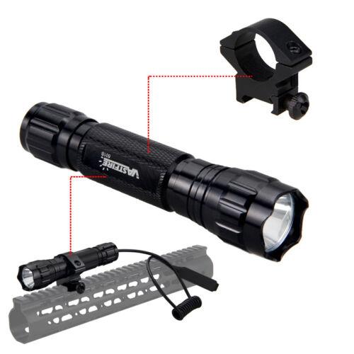 501B Red LED Single 1 Mode Coyote Hog Pig Varmint Predator Hunting Flashlight