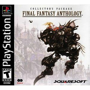 Final-Fantasy-Anthology-PlayStation-1-PS1-Game-Complete-CLEAN-VG
