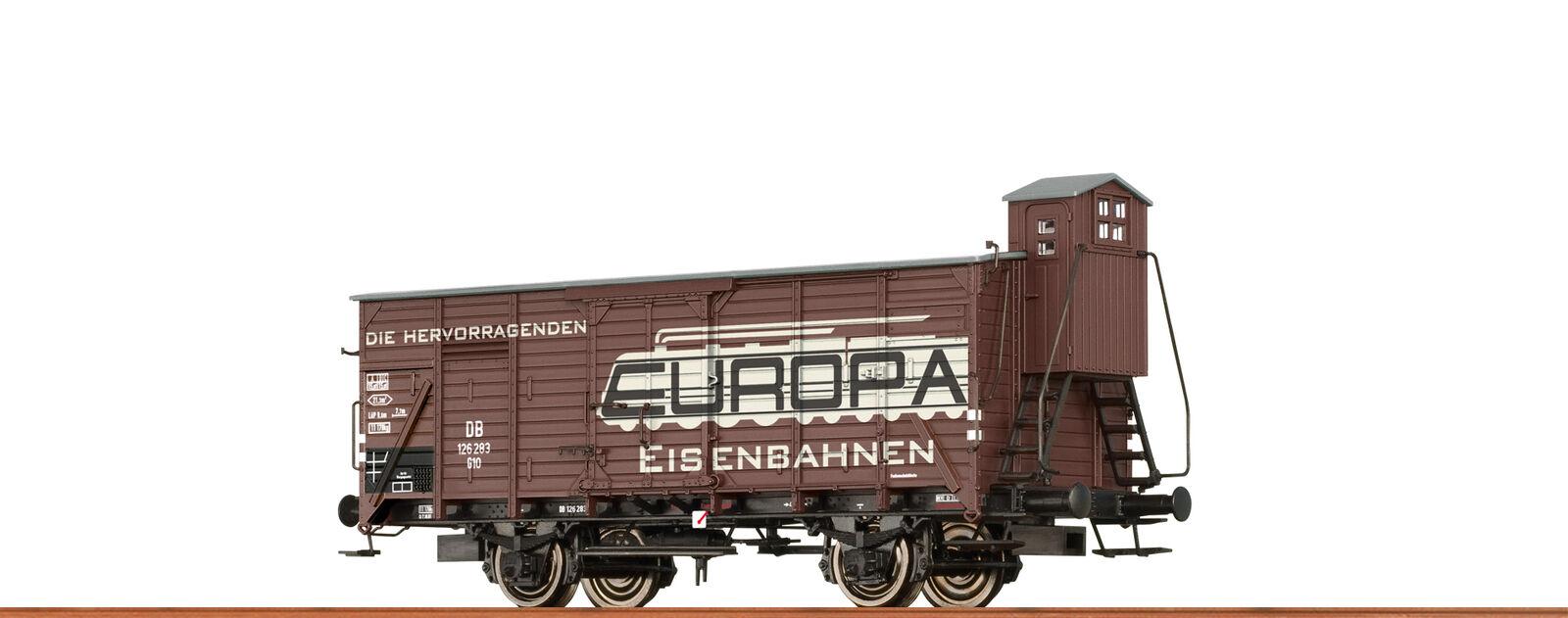 Brawa 49747 Gauge H0 Freight Car G10 Db, III, Europa Spielwaren Dc
