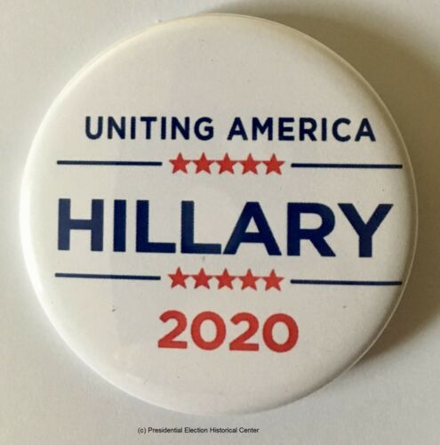 Hillary Clinton for President Set of 6 Campaign Button HCLINTON-701-ALL