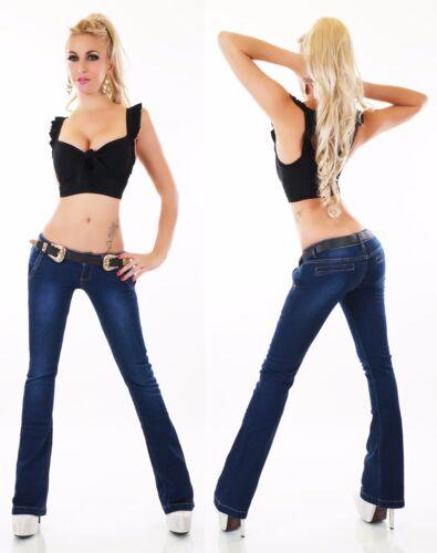 femmes Swing Pantalons pour évasés Pantalons Jeans pour Xs Ceinture xl Bootcut dames jeans Pantalons 5XXqrzw