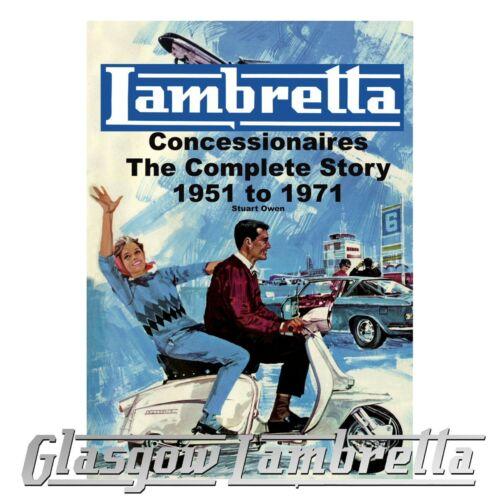 sticker Lambretta Concessionaires The Complete Story 1951 to 1971 Stuart Owen