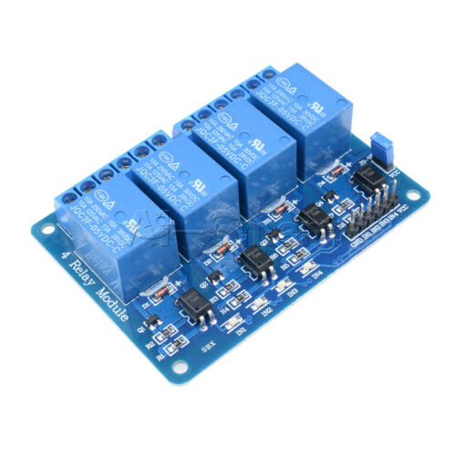 Optocoupler For Arduino PIC ARM AVR 4 Four Channel Relay Module DC 5V