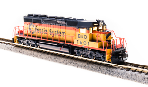Broadway-Limited-New-2019-EMD-SD40-2-B-amp-O-Chessie-System-7612-P3-Sound-3706
