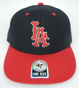CALIFORNIA-ANAHEIM-LA-ANGELS-MLB-VINTAGE-STRAPBACK-LA-RETRO-CAP-HAT-NWT-47-RARE