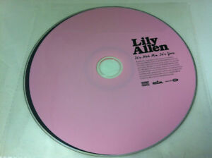 Lily-Allen-it-039-s-not-me-You-CD-de-Musica-Album-2009-Disco-SoLO-EN-MANGA