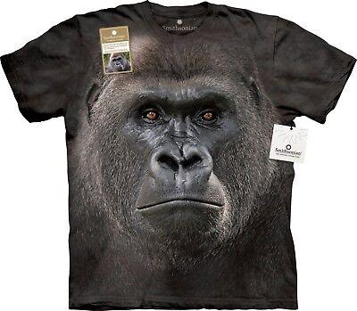 Big Face Gorilla Scimmia T Shirt Per Adulti Unisex Mountain-mostra Il Titolo Originale Prestazioni Affidabili