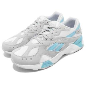 51423b879e97c0 Image is loading Reebok-AZTREK-Grey-White-Blue-Men-Lifestyle-Running-