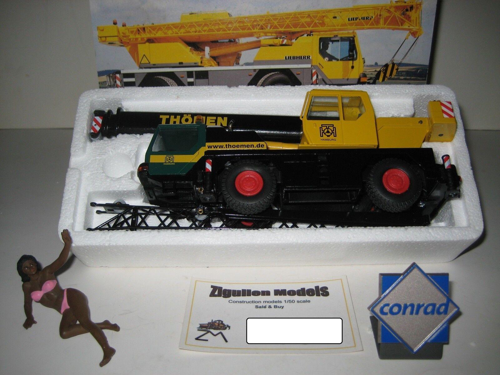 Liebherr LTM 1030-2 Autokran THÖMEN  2088.48 CONRAD 1 50 NEUF dans sa boîte