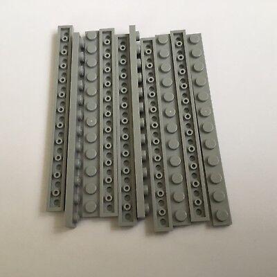 Lego 4 x Platte Bauplatte flach 60479 schwarz 1x12